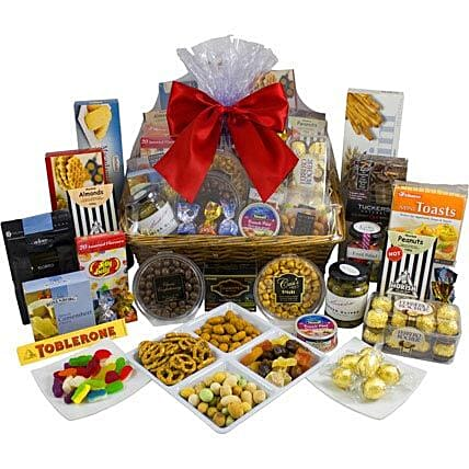 Magnificent Sweet N Savoury: Bhai Dooj Gift Delivery in Australia