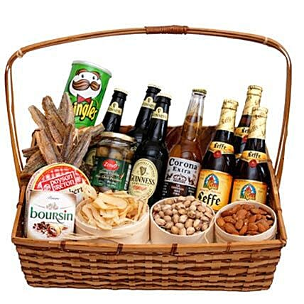 Soul of Russia Basket: Thanksgiving Gifts in Canada