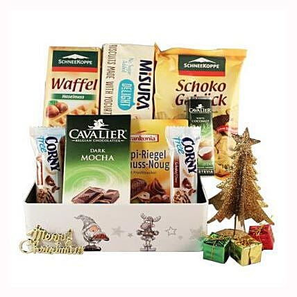 Sweet Moments Diabetic Gift Basket: Corporate Gifts to France