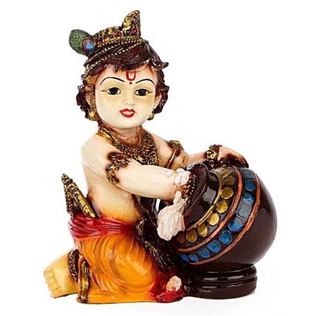 Bal Krishna Idol: Handmade Gifts