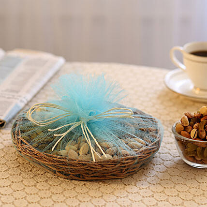 Basket of Nuts: Send Chhat Puja Gifts