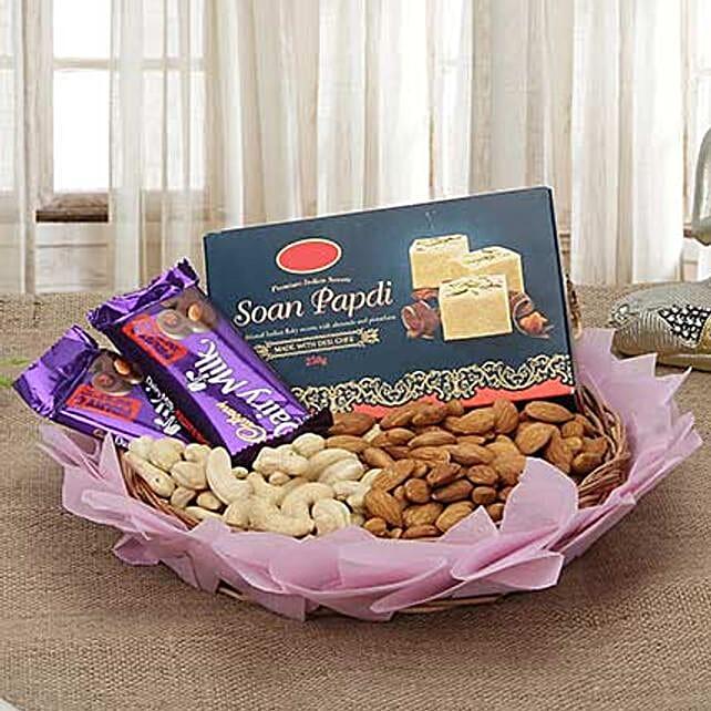 Basking In Glory: Diwali Chocolates