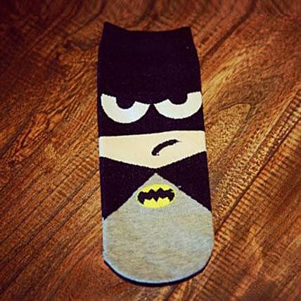 Batman Ankle Length Socks: Unusual Gifts