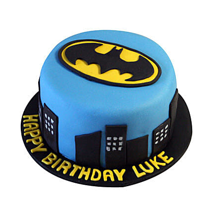 Batman N Gotham City Cake: Batman Theme Cakes