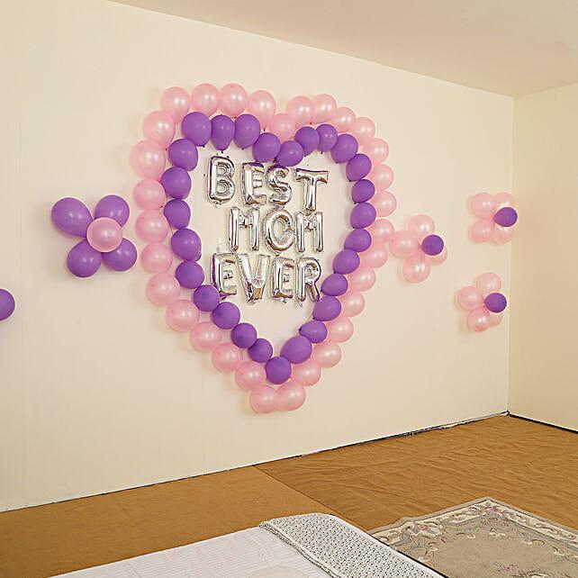 Beautiful Best Mom Ever Balloon Decor: Balloon Decoration Ideas