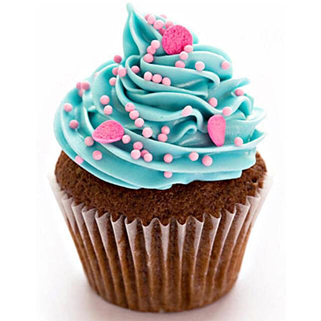 Blue Pink Fantasy Cupcakes: Cupcakes