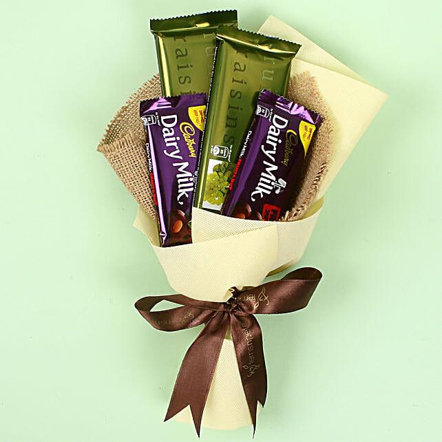 Cadbry Chocolate Bouquet: Chocolate Bouquet