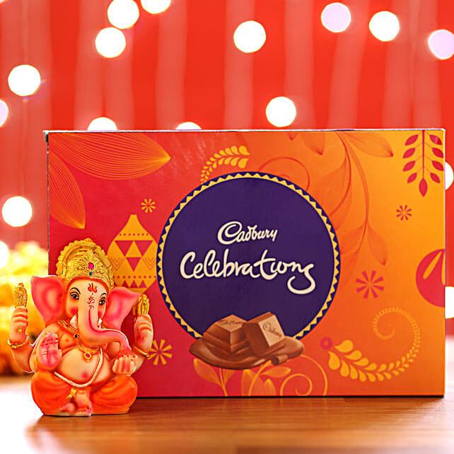 Cadbury Celebrations Box & Ganesha Idol: