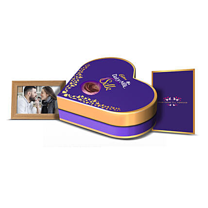 Cadbury Dairy Milk Silk Love Box: