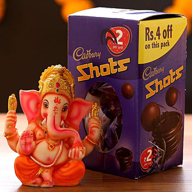 Cadbury Shots & Lord Ganesha Idol: Chocolate Combos