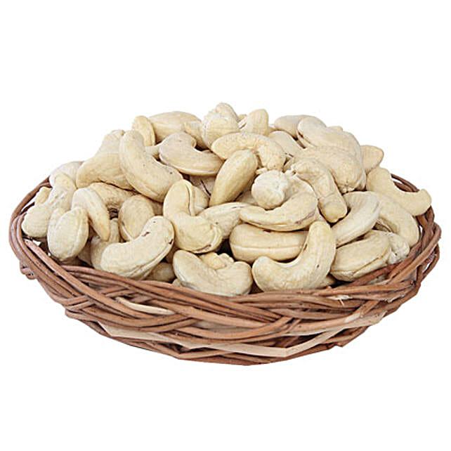 Cashews Basket: Send Gift Baskets
