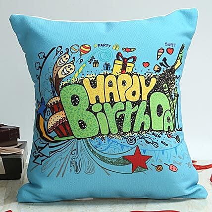 Celebrate With Blue: Buy Cushions