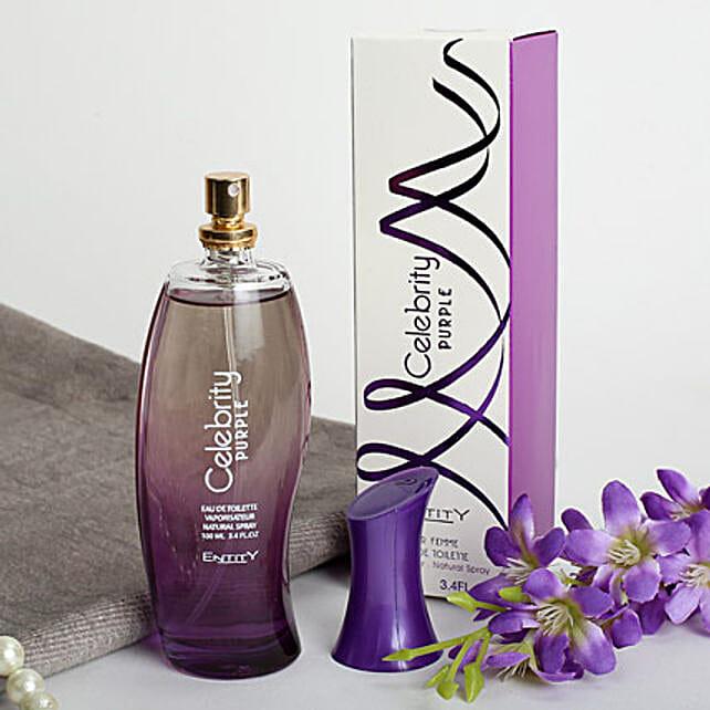 Celebrity Purple: Send Perfumes
