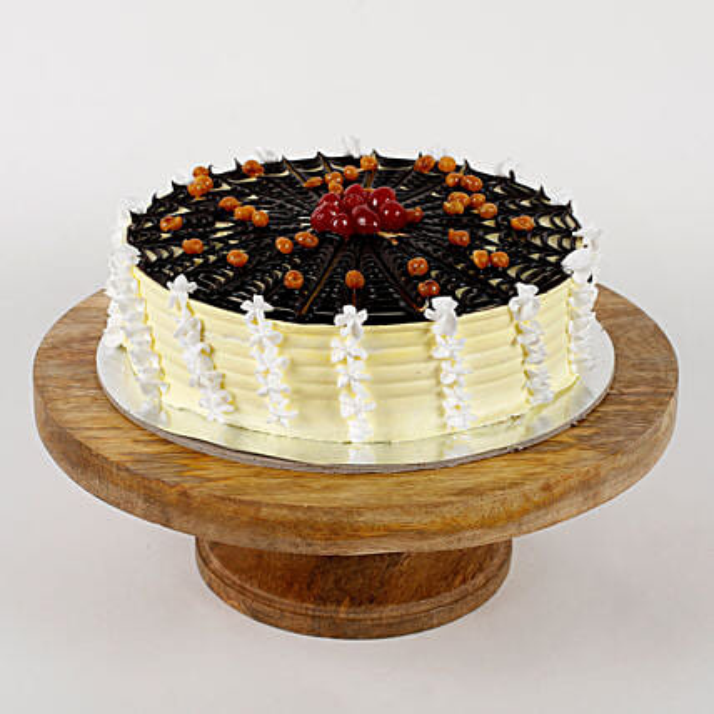 Choco Spiral Cream Cake: