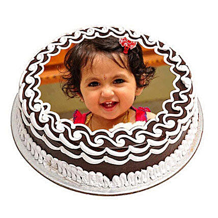 Birthday Cake With Photo And Name Personalised Birthday Cake Photo