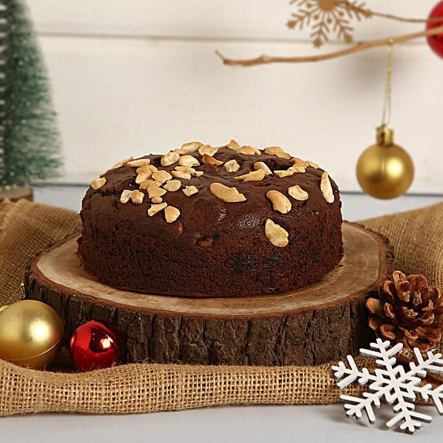 Plum Cake With Cashews: Buy Dry Cakes
