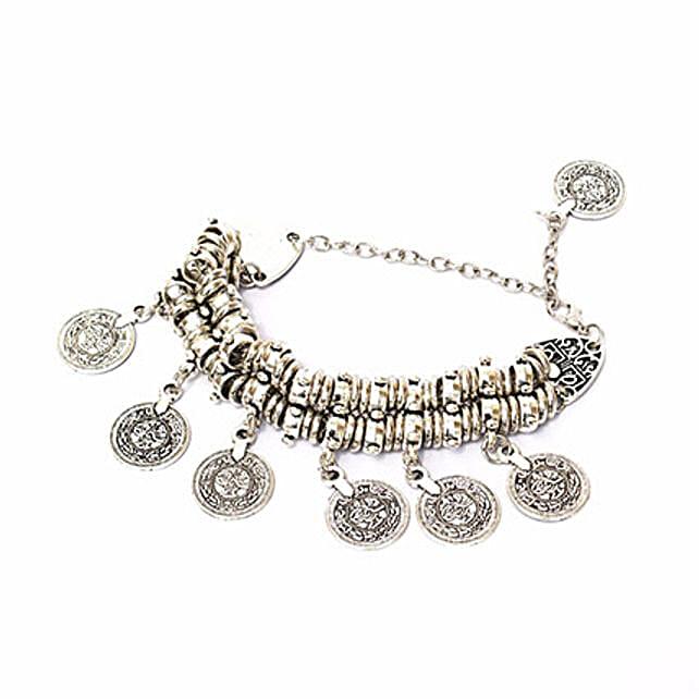 Chunky Coin Bracelet: Friendship day Bracelets