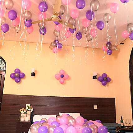 Colorful Balloons Decor Birthday Gifts For Girls