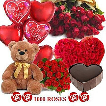 Crazy in Love: Send Roses And Teddies