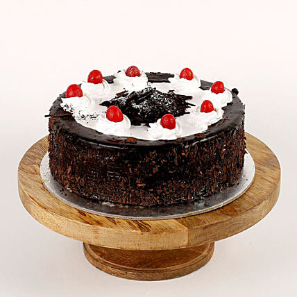 Cream Drop & Cherry Black Forest Cake: Black Forest Cakes