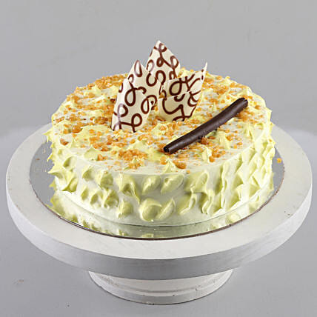 Crunchy Butterscotch Cake: Cake Delivery