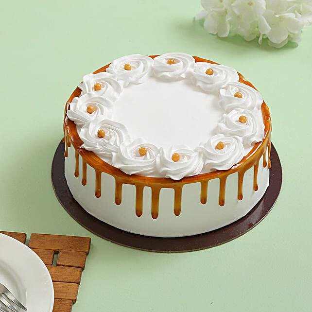 Crunchy Butterscotch Cream Cake: Butter Scotch Cakes