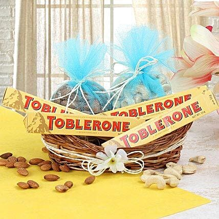 Crunchy Delight: Send Bhai Dooj Gift Hampers