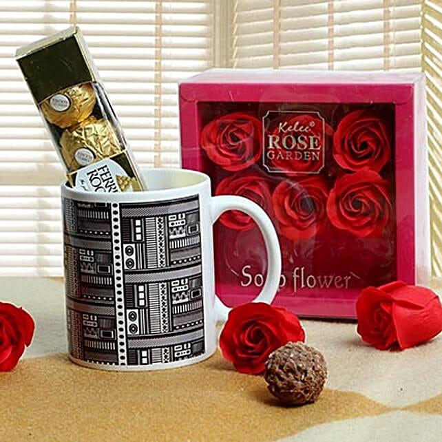 Cute Gift Hamper: Ferrero Rocher Chocolates
