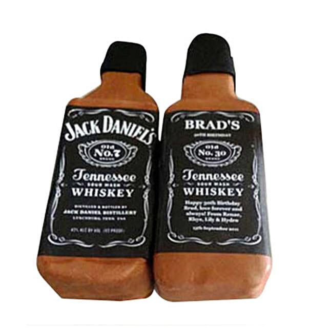 Delicious Jack Daniels Cake: Send Designer Cakes