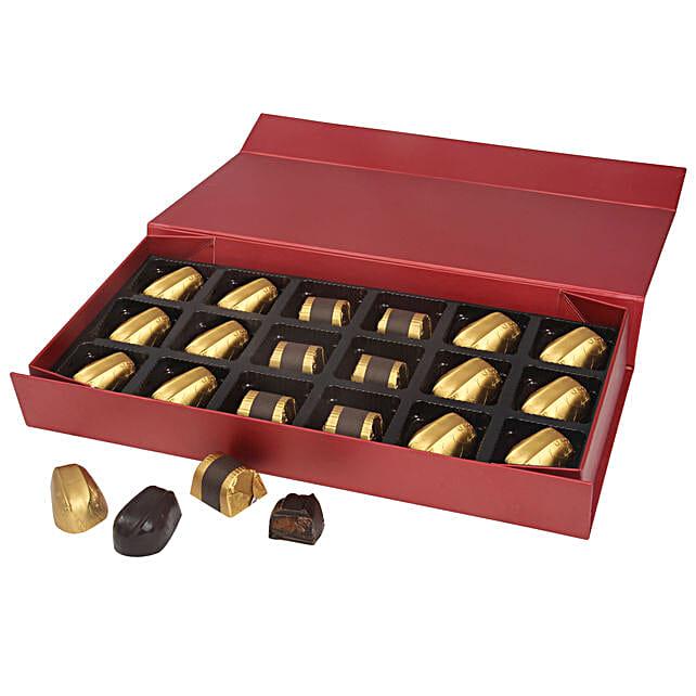 Designer Box of Assorted Chocolates 18: Handmade Chocolates