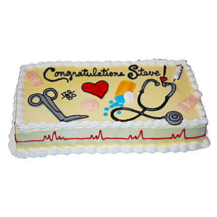 Doctors magical tools Cake: Doctors Day Gifts