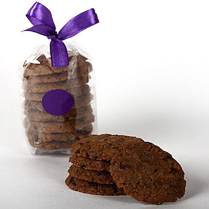 Eggless Chocochip Cookie Tin: Gourmet Gifts