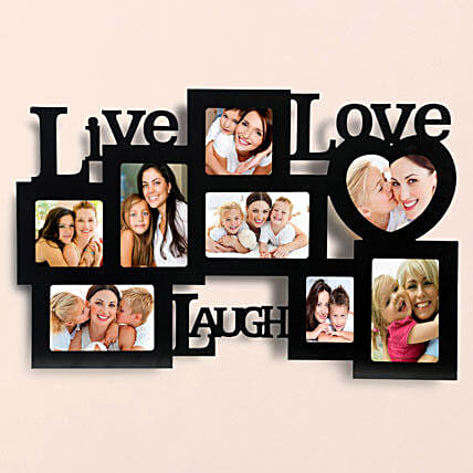 Elegant Love Photo Frame Lamp: