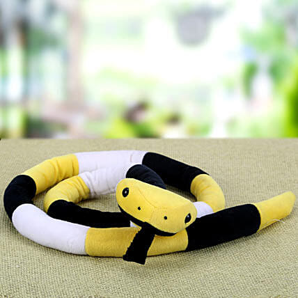 Frightful Day with Snake: Soft toys for Propose Day