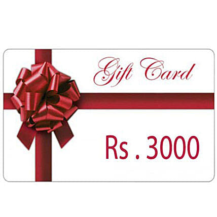 Gift Card 3000: Gift Cards
