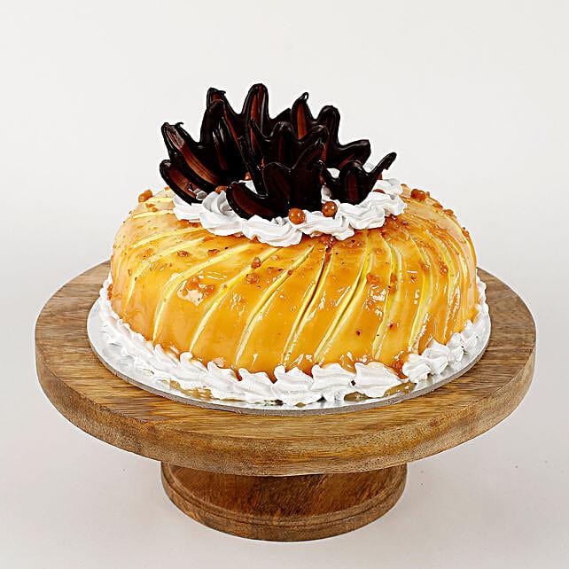 Glaze Cream Cake:
