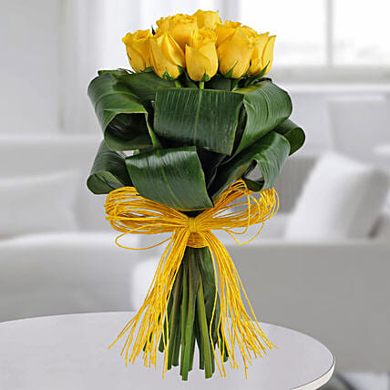 Gleams Of Sunshine Bouquet Send Flower Bouquets