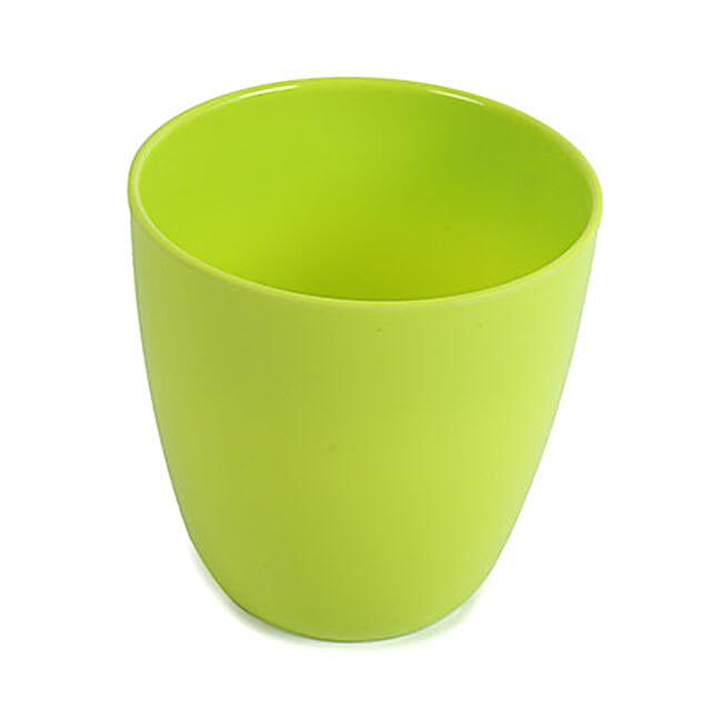 Green Melamine Planter: Pots for Plants
