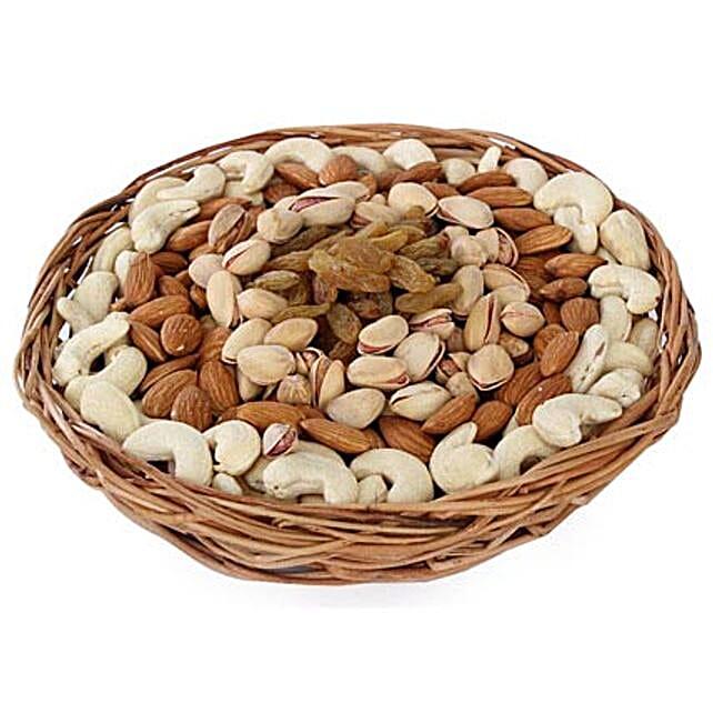 Half kg Dry fruits Basket: Send Gift Baskets