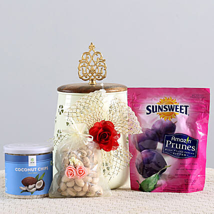 Healthy Snacks Hamper: Send Gift Hampers