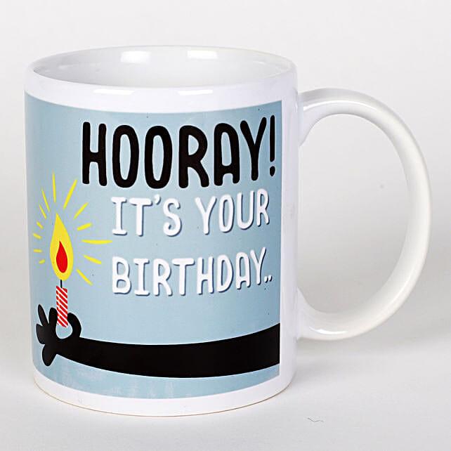 Hooray Birthday Mug: Birthday All Gifts