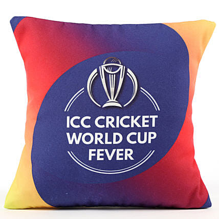 ICC Cricket World Cup Fever Cushion: Cricket World Cup Gifts