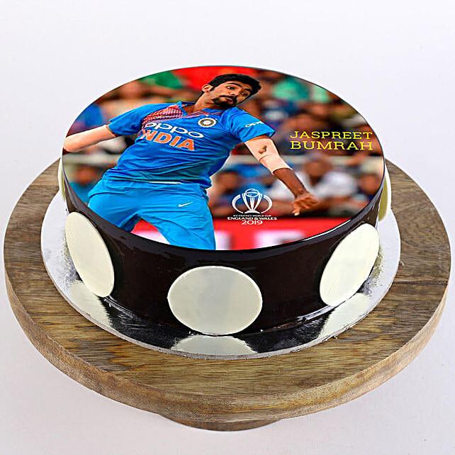 Jasprit Bumrah Photo Cake: Cake Delivery
