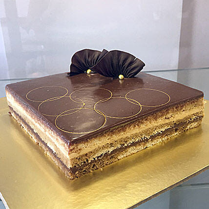 Joyful Opera Cake: Buy Eggless Cakes