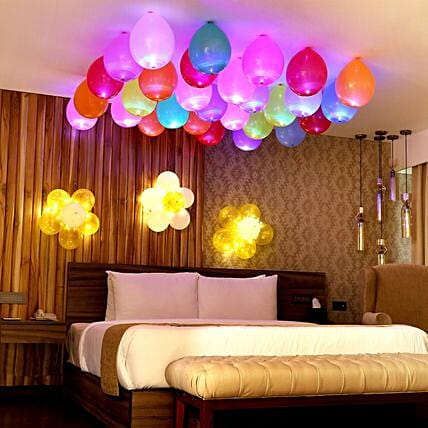 Balloons Decorations For Birthday Party Anniversary At Home Ferns