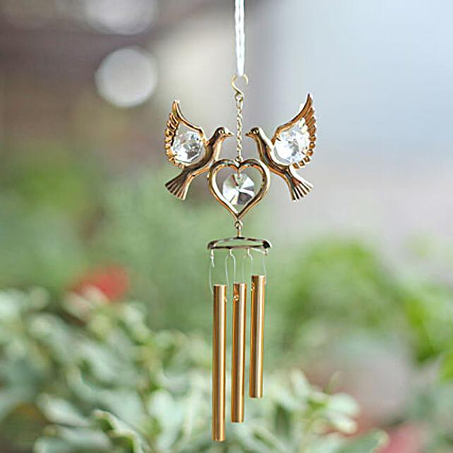 Love Birds Wind Chime: