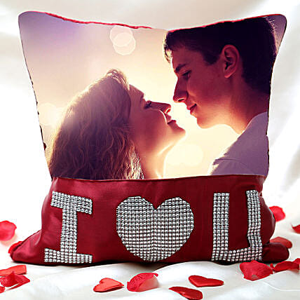 Love Special Personalized Cushion: Personalised Cushions for Valentine
