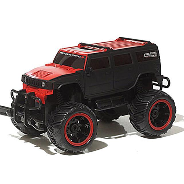 Monster Truck In Red N Black: Kids Toys & Games
