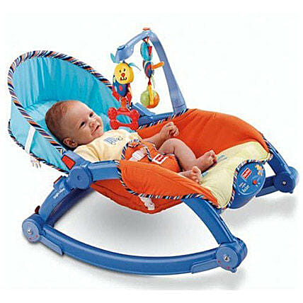 Multi Color Portable Rocker: Toys and Games