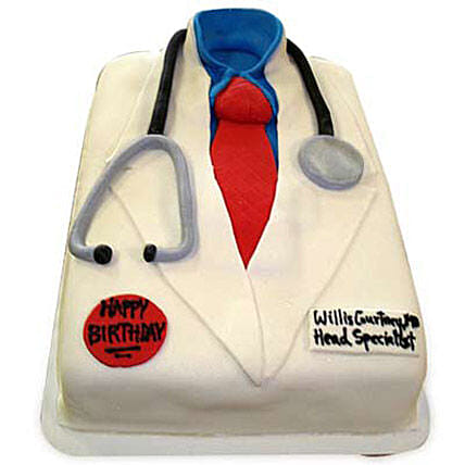 Mushy Doctor Cake Send Doctors Day Cakes
